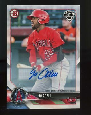 2018 Topps Holiday Jo Adell Auto RC Rookie