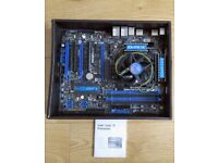 PC Parts Intel i5 Processor MSI Motherboard Sound Card 2x4GB DDR3 Memory Power Supply Cooler
