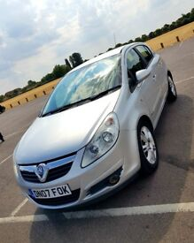 Vauxhall Corsa Design 1.2 Manual Petrol Silver 5dr Half Leather