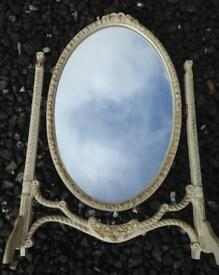 French Louis dressing table mirror (freestanding)