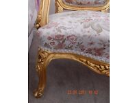 Beautiful chair excellent condition as been in spare room also casual chair excellent condition