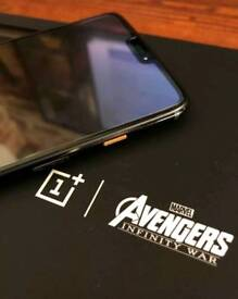 OnePlus 6 - Avengers Edition - 256GB - Carbon - Dual Sim - Unlocked - Extremely RARE