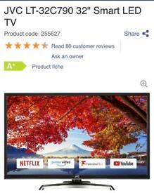 Sharp Aquos LCD 19 inch Widescreen HD TV   in Ilkeston