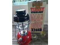 Brand new Tilley paraffin oil lamp.
