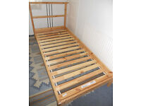 """Solid Pine Single Bed Frame - Ikea """"Dalselv"""""""