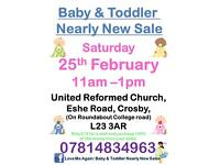 Baby and Toddler Nearly New Sale