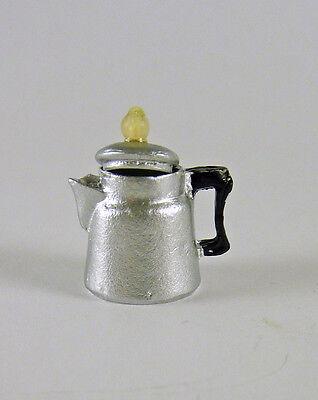 Dollhouse Miniature 1950s Style Percolator Coffee Pot