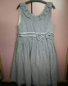 Girls MONSOON party - summer dress 8 - 9 years
