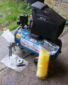 Nu-air compressor + extras included