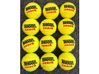 Teloon Coaching Pressureless Tennis Balls Dozen (12)