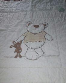 I love my bear BRUIN Cot/ Cotbed Bedding Set Unisex Boy Girl