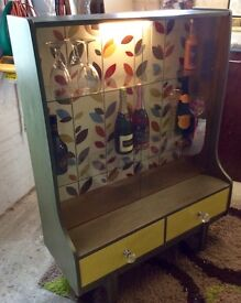 Funky cocktail cabinet
