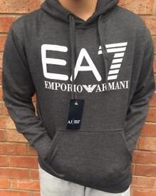 Brand new EA7 Armani Grey Hoodie Size Small