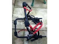 Bike rack - Halfords Essentials Rear Low Mount Cycle Carrier - nearly new