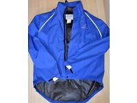 LADIES ALTURA CYCLING JACKET- BLUE SIZE L (Good as new, hardly worn)