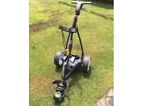 Powakaddy fw3 golf trolley + Powakaddy matching Bag
