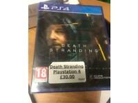Death Stranding - PlayStation 4 Game (New/Sealed)