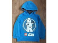 Star Wars Hooded Sweatshirt from Tesco 5-6 years