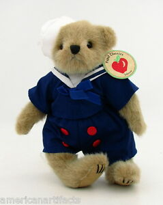 Jefferson-Nautical-Sailor-Suit-Plush-Teddy-Bear-by-Papel-10-New-With-Tag