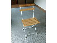 Classic Bistro Cafe Chair. Garden Patio Furniture.
