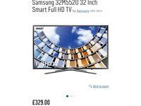 "32"" SAMSUNG SMART TV (BLACK)"