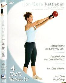 Iron Core Kettlebell 4 Dvd Set (2011)