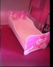 2 wooden toddler beds great condition