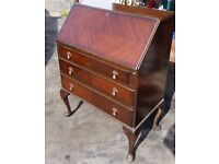 1950's original bureau writing table, excellent condition, stylish, authentic piece £59 ono