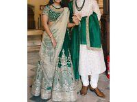 Stunning bridal lehenga in latest design