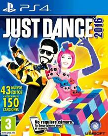 JUST DANCE 2016 PS4 EXCELLENT CONDITION