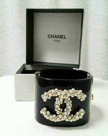 Stunning! Chanel Cuff bracelets Boxed Brand New!