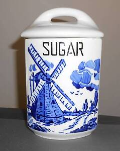 Antique Czecho-Slovakia YVONNE Sugar Cannister