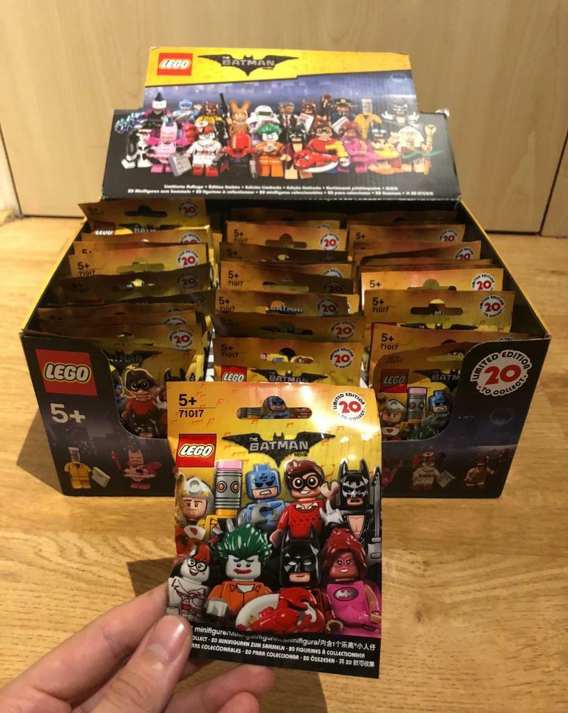 Lego Batman Movie Minifigures 71017 Box Of 60 Packets All Series Unopened