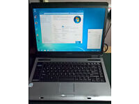 Toshiba Equium A100-02L Running Windows 7 Pro and Wireless