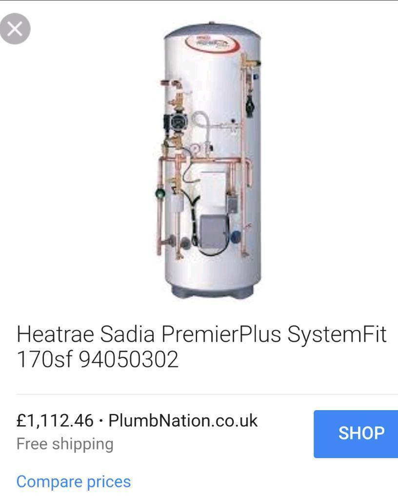 Like magaflo Hot water unvented cylinder system fit 170ltr | in ...