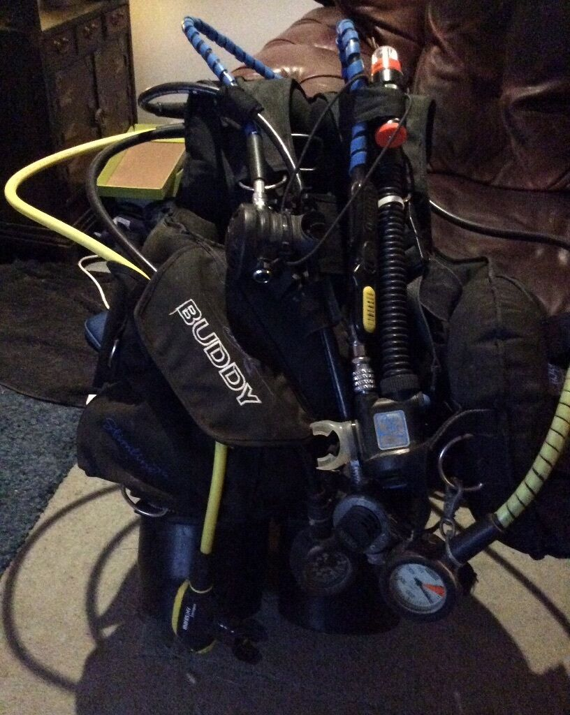 Buddy commando bcd size l apex tx40 spiro xr2 mares mv - Apex dive gear ...