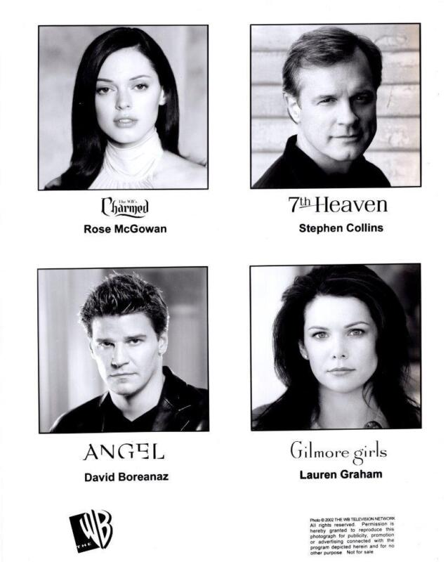 """""""Angel"""" """"Gilmore Girls"""" """"Charmed"""" """"7th Heaven""""   2001 Vintage Publicity Photo"""