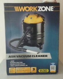 Work Zone Ash Vacuum Cleaner