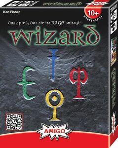 Amigo Wizard Kartenspiel Das Kult Stichspiel Magic Super Power Kinder Spiel NEU