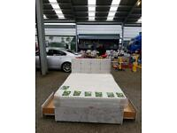 Brand new crushed velvet divan beds any size and colour with free delivery