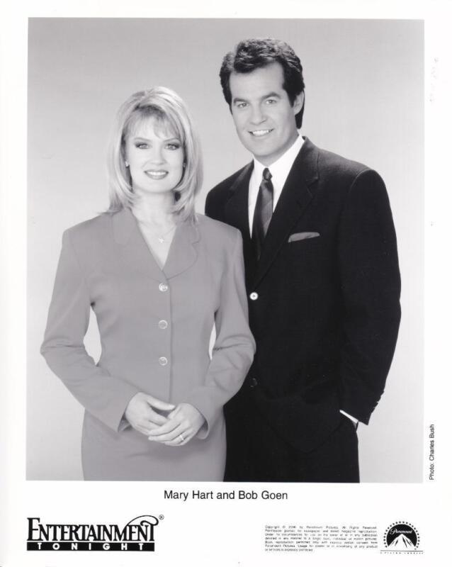 "Mary Hart, Bob Goen ""Entertainment Tonight"" Vintage TV Still"