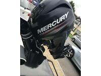 Mercury mariner 40hp outboard engine / boat