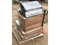 Pallet of Brand New Raw Customer Returns Untested Warehouse Clearance Wholesale Stock Gas BBQs