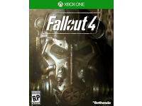 xbox one game fallout 4 plus downloadable code for fallout 3 full game