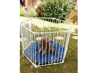 Puppy or dog play pen or room divider by Lindham