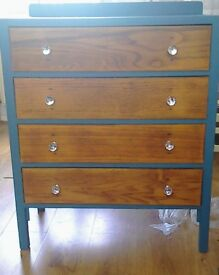 Chest of 4 Victorian drawers