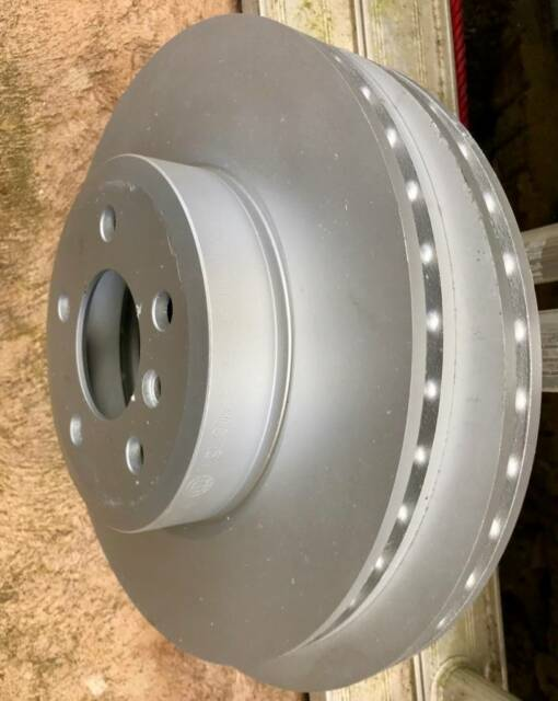GENUINE BMW FRONT VENTILATED DISCS ROTORS