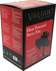 Valiant 2 Blade Heat Powered Stove Fan
