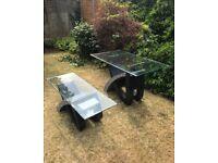 2 Outdoor Garden tables