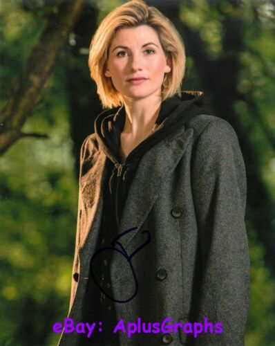 JODIE WHITAKER.. Doctor Who - SIGNED